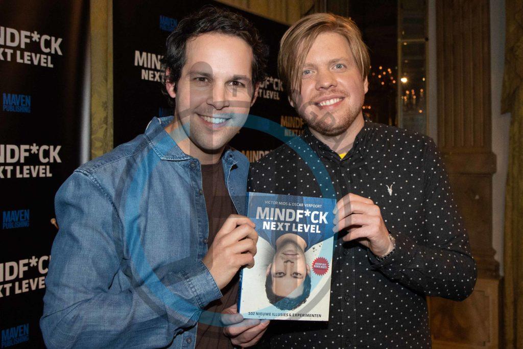 Victor Mids en Oscar Verpoort Boekpresentaite Mindfuck Next level