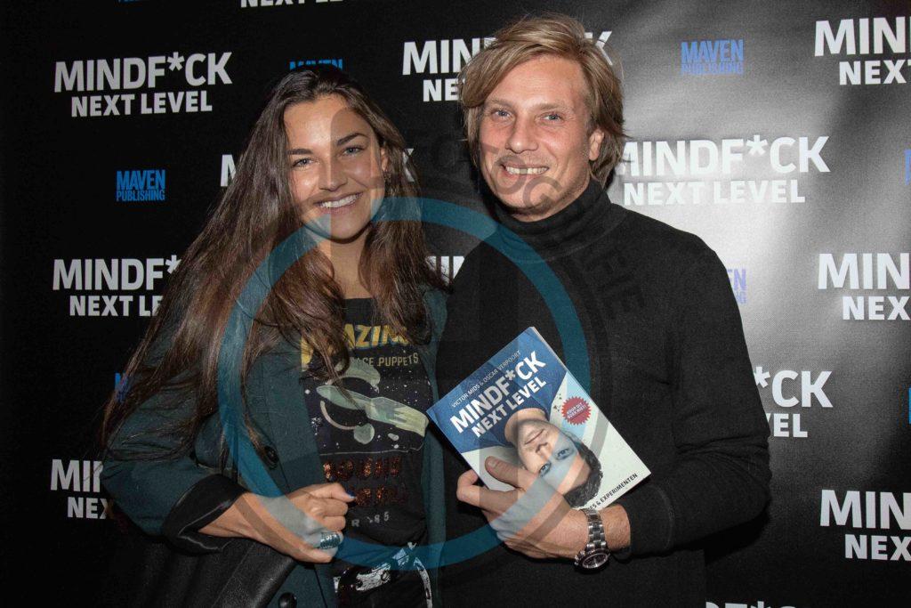 Jamie Westland met partner Felicia Noya Boekpresentaite Mindfuck Next level